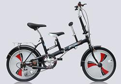 "20"" 2-Seat Folding Bike for $170"