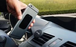 Okra Magnetic Vent-Mount Smartphone Holder for $3