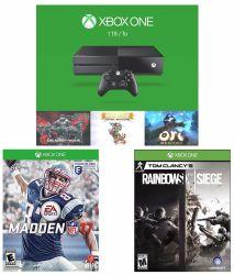 Microsoft Xbox One 1TB Console w/ 5 Games