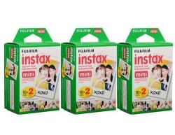 Fujifilm Instax Mini Instant Film 60-Pack for $34