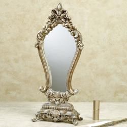 Serapione Tabletop Vanity Mirror for $43