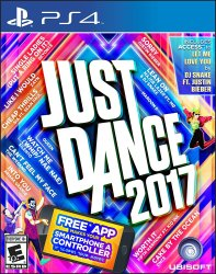 Just Dance 2017 for PS4, Xbox One, PS3 $25
