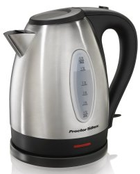 Proctor Silex 1.7L Stainless Electric Kettle for $13 + free shipping w/ Prime