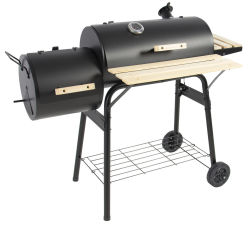 "40"" Charcoal Barbecue Pit/Smoker for $60"