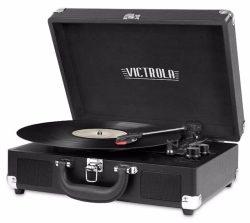 Victrola Suitcase Bluetooth Turntable for $40