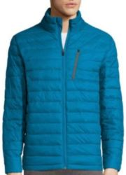 Xersion Men's Packable Puffer Jacket for $15
