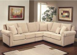 Alexandra Upholstered Sectional Sofa for $1,499