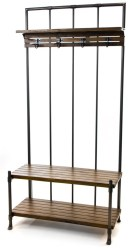Hallway Bench and Coat Rack for $225