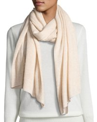 Neiman Marcus Women's Cashmere Shawl Scarf for $68