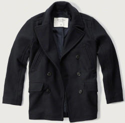 Abercrombie & Fitch Men's Wool Peacoat for $59