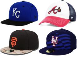 MLB Team Caps at Lids for $10