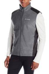 Columbia Men's Steens Mountain Fleece Vest for $13 + free shipping w/ Prime