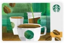$15 Starbucks Gift Card for free w/ $50