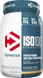 Dymatize ISO-100 1.6-lb. Whey Isolate Powder $25