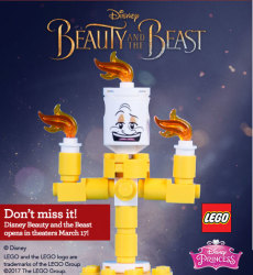 Upcoming: LEGO Beauty & the Beast Build for free