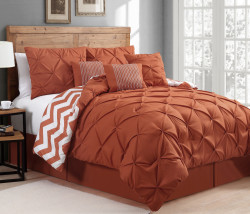 Germain 7-Piece Reversible Comforter Set for $84