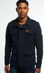 Superdry Men's Rookie Military Blazer for $57