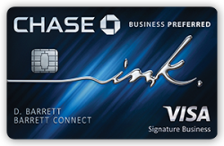 Chase Ink Business Preferred℠: 80,000 bonus points