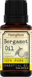 Bergamot Pure Essential Oil 0.5-oz. Bottle for $4