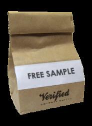 Verified Coffee sample for free