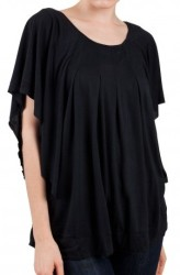 Dollz Women's Round Neck Loose Shirt for $8