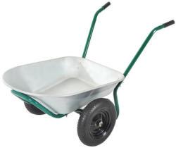 Outsunny 2-Cu. Ft. Metal Wheelbarrow for $50