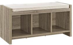 Avenue Greene Sonoma Oak Storage Bench for $97