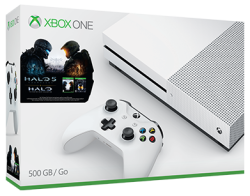 Xbox One S 500GB Halo Console, $50 MS GC for $299