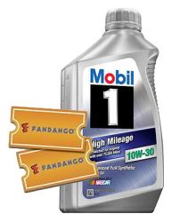 Fandango Movie Ticket for free w/ Mobil 1 oil