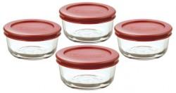 Anchor Hocking 8-Piece Glass Storage Set for $7