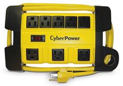 CyberPower Heavy Duty 8-Outlet Power Strip $16