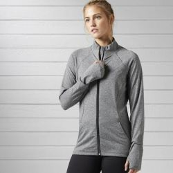Reebok Women's Training Full-Zip Track Jacket $17