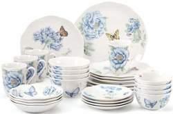 Lenox 28pc Butterfly Meadow Dinnerware Set $117