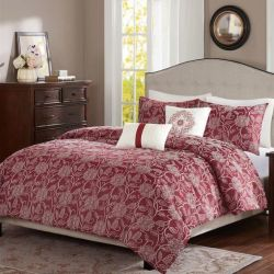 Home Essence 5pc Full/Queen Comforter Set for $40