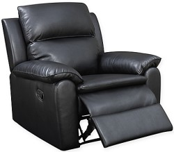 Lifestyle Solutions Faux Leather Recliner for $270