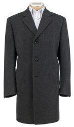 Jos. A. Bank Men's 3/4 Mini Neat Topcoat for $83
