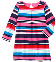 Gymboree Girls' Striped Shift Dress for $10