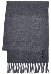 Yves Saint Laurent Unisex Wool Scarf for $35