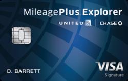 United MileagePlus® Explorer Card 50,000 miles