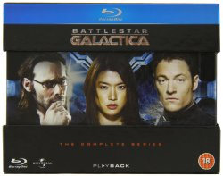 The Complete Battlestar Galactica on Blu-ray $26