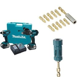 Makita Combo Kit w/ Bit Set & Bit Holder for $220