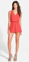 ASTR Women's Sleeveless Romper for $25