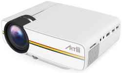 Artlii Vivi Mini LED Home Theater Projector $80