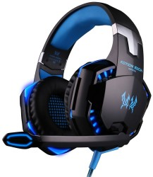Each G2000 Over-Ear Gaming Headset for PC for $12