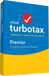 TurboTax Premier 2016 Fed & State Software for $55