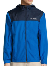 Columbia Men's Weather Drain Rain Jacket for $40