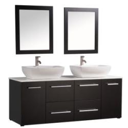 """MTD Vanities Nepal 63"""" Bathroom Vanity Set $1,614"""