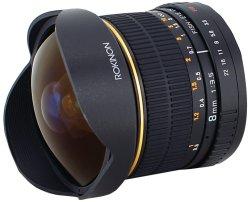 Rokinon Fisheye Lens for Canon / Nikon / Sony $179