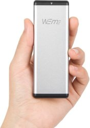 Weme M.2 SSD USB C to USB 3.0 Enclosure for $11