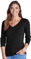 Eddie Bauer Women's Long-Sleeve T-Shirt for $10